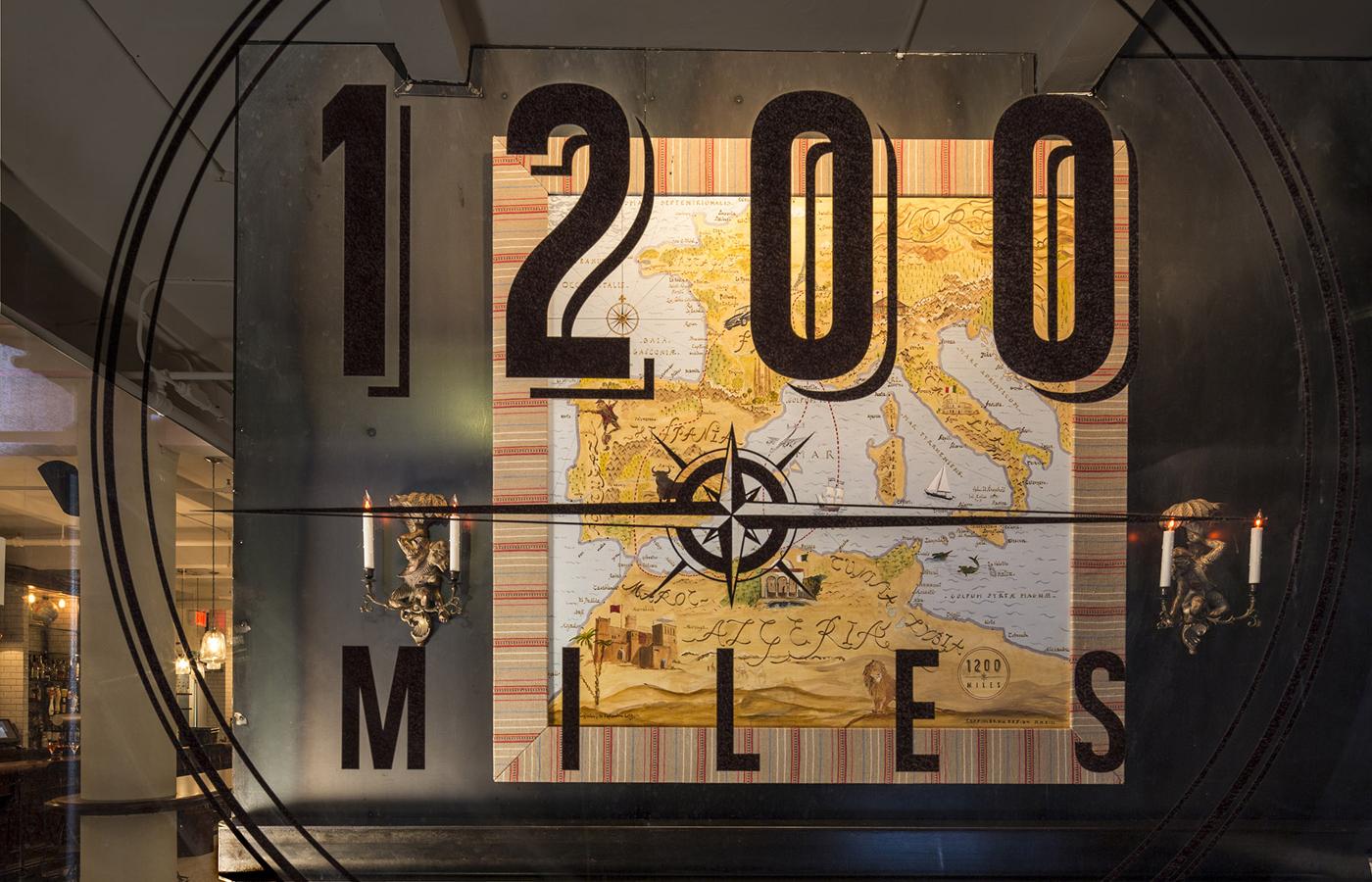 1200 Miles Restaurant in Flatiron