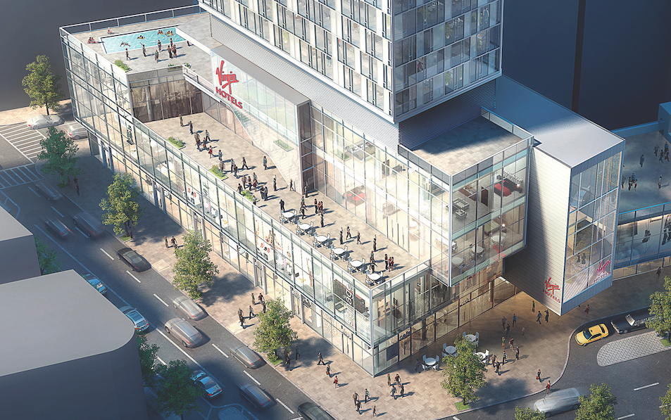 NGKF has teamed up with Lam Group to bring a high-end retail center to the forthcoming Virgin Hotel in NoMad