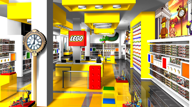 The LEGO Flagship store celebrates its grand opening this weekend in NoMad.