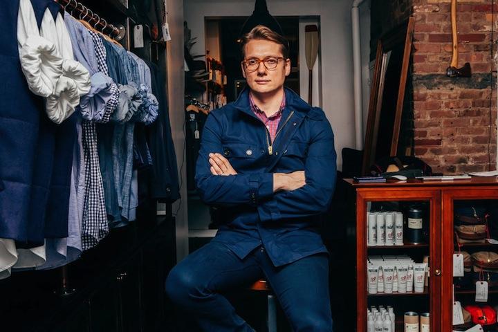 Ernest Alexander Sabine opens his NoMad-based design studio to customers.