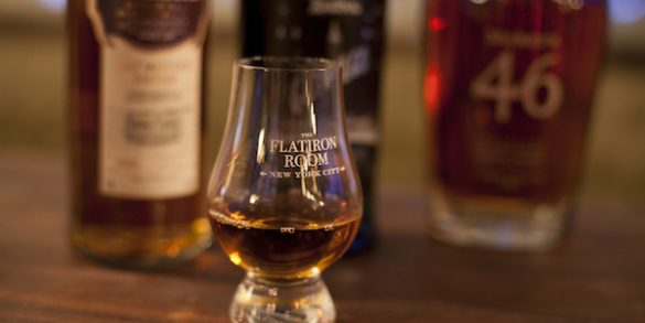 The Flatiron Room, who houses their offices with Kew Management, offers exceptional whiskey tasting classes