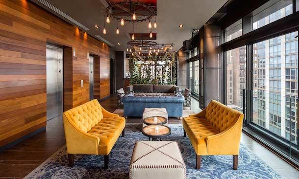gansevoort park hotel coworking space rooftop penthouse digital nomad