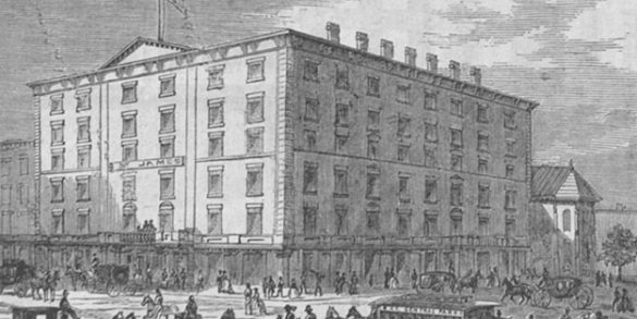 Learn about the terrorist attack that was planned to occur at the historic St. James Hotel.