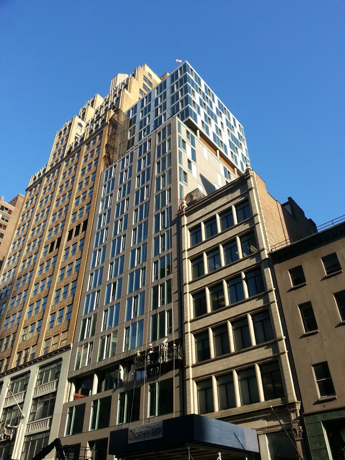 ny times highlighted the construction going on in the nomad neighborhood and 241 fifth avenue