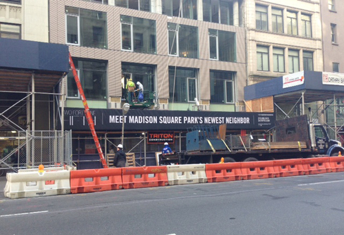 241 Fifth Avenue now has signage