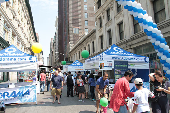 3rd annual adorama street fair takes place on 18th street this sunday june 23rd