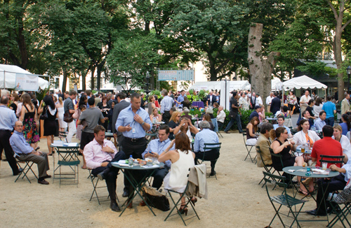 eating during celebrate flatiron chefs madison square park