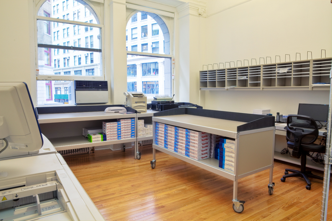 copy machine at kew management business center